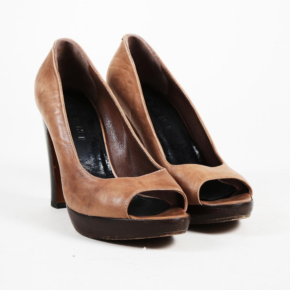 Marni Peep-Toe Suede Pumps browse cheap price new arrival for sale ODrT5GeHMN