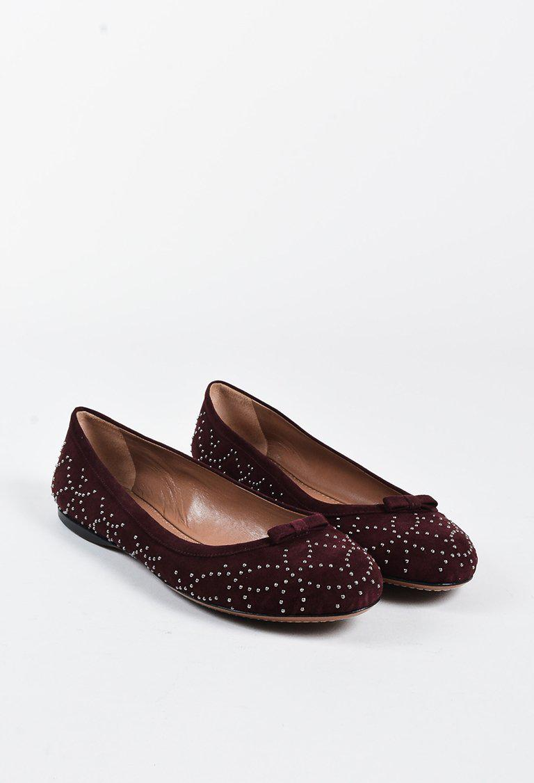discount genuine official site cheap price Alaïa Round-Toe Ballet Flats NLwuq1