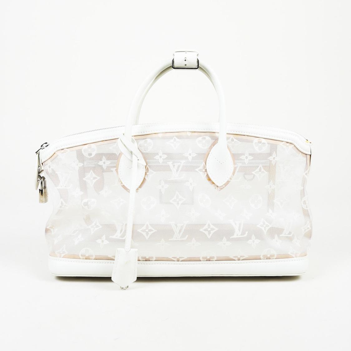 2d1ffc150ffd Lyst - Louis Vuitton Monogram Mesh