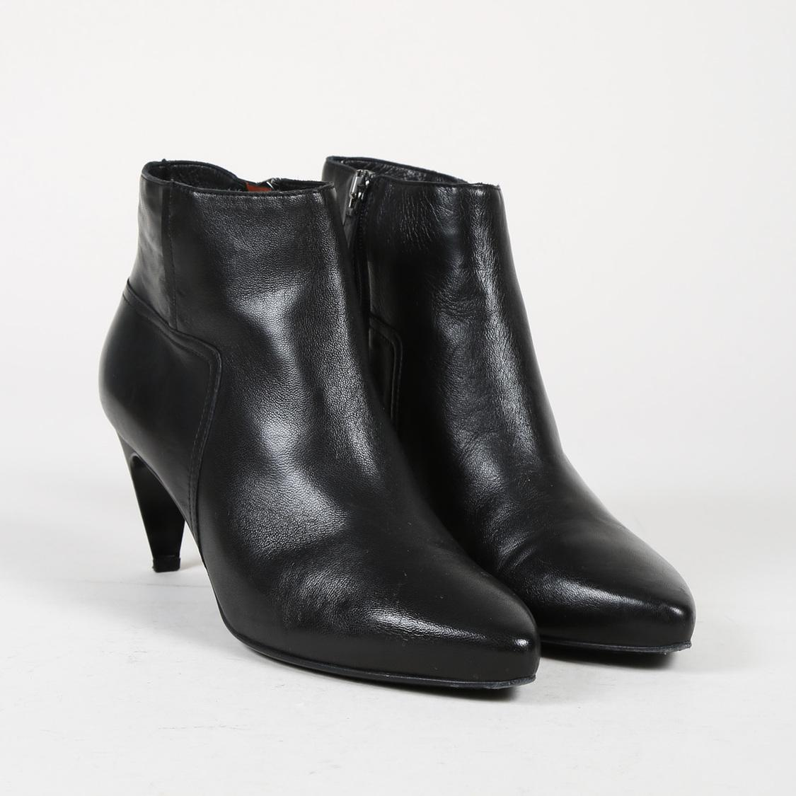 shop cheap price cheap low cost Lanvin Pointed-Toe Buckle Ankle Boots best XeJdHpJp