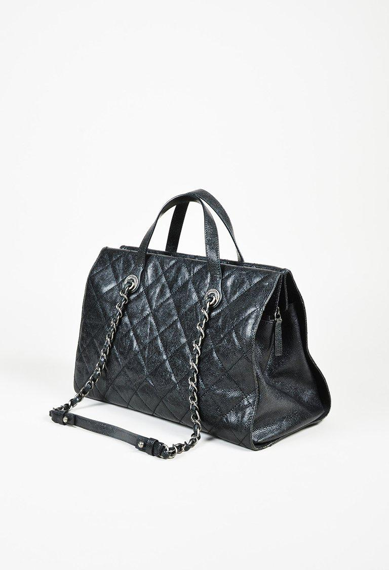 66b150aea5d9 Chanel 1 Black Quilted