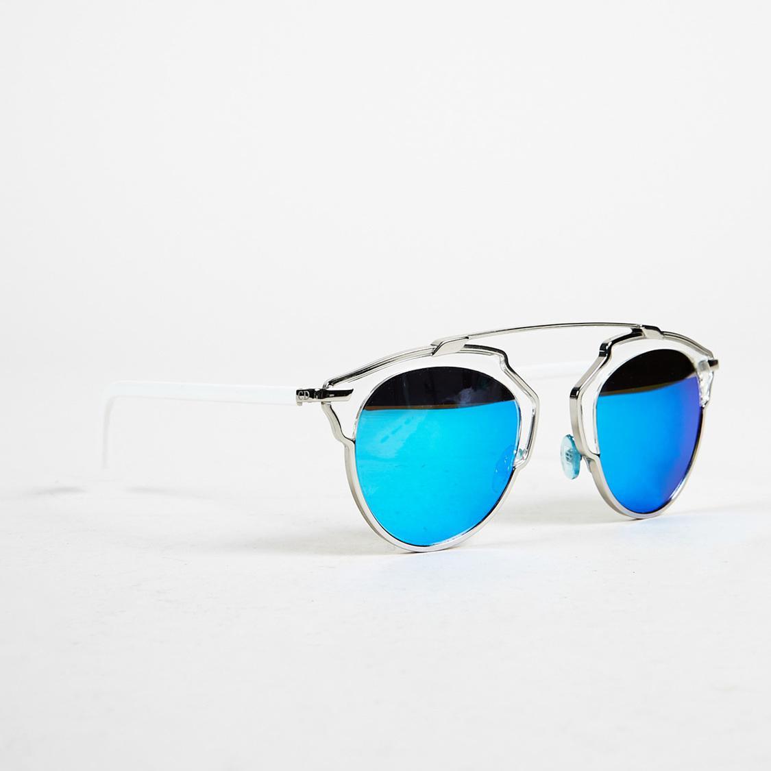 f1a4a5f6e411 Lyst - Dior Blue   Silver Tone Mirrored