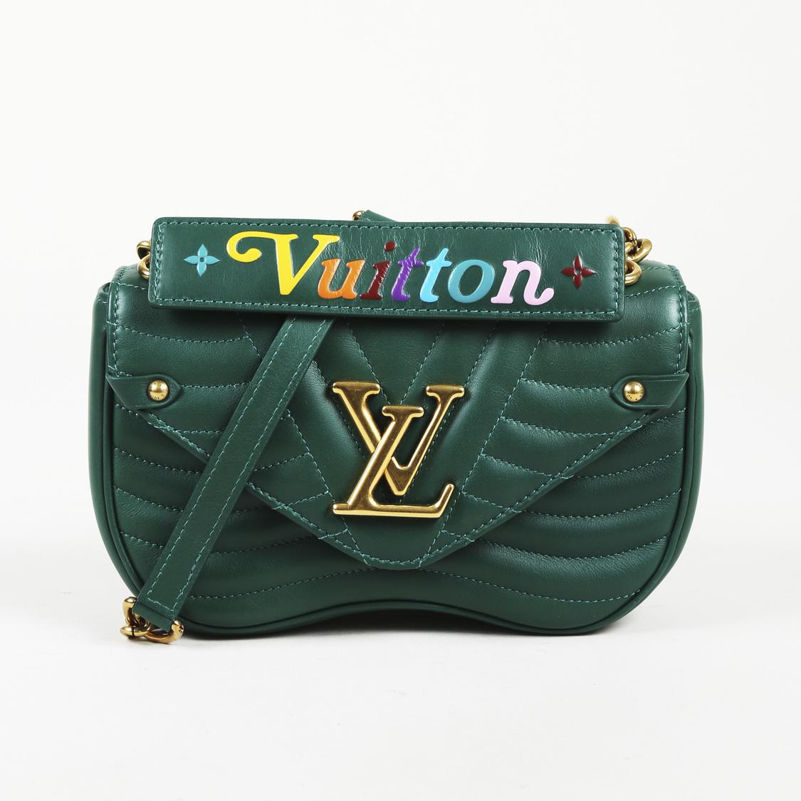Louis Vuitton Quilted Calfskin Leather