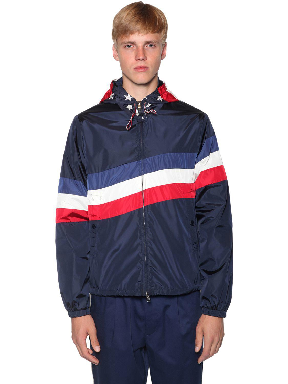 4fe7675b5 Lyst - Moncler Cam Nylon Tech Casual Jacket in Blue for Men