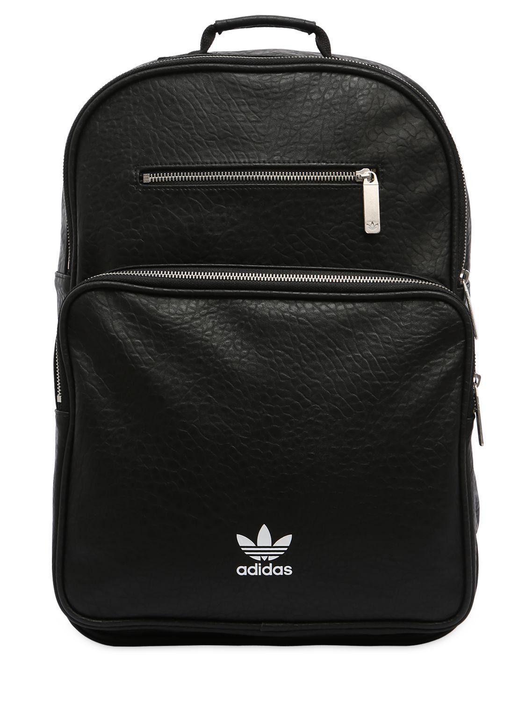 cd345495a7e3 Adidas Originals Classic Mini Faux Leather Backpack- Fenix Toulouse ...