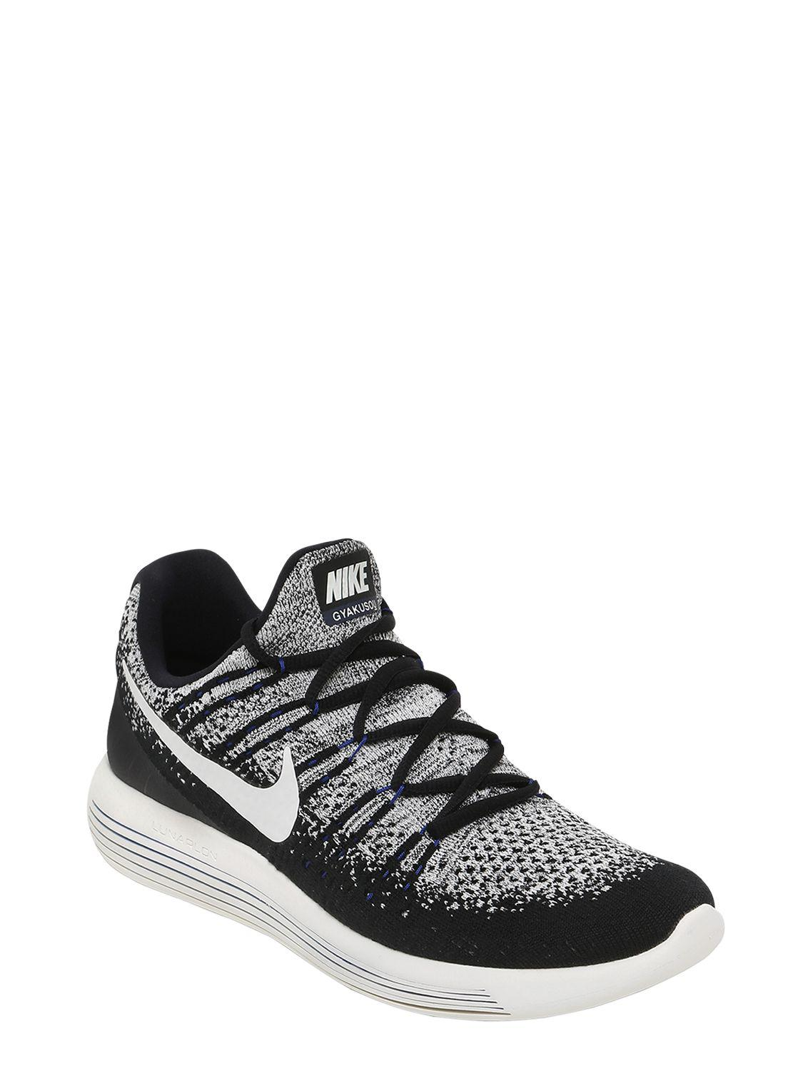 2ea484acbbff Lyst - Nike Nikelab Lunarepic Flyknit 2 Sneakers in Black for Men