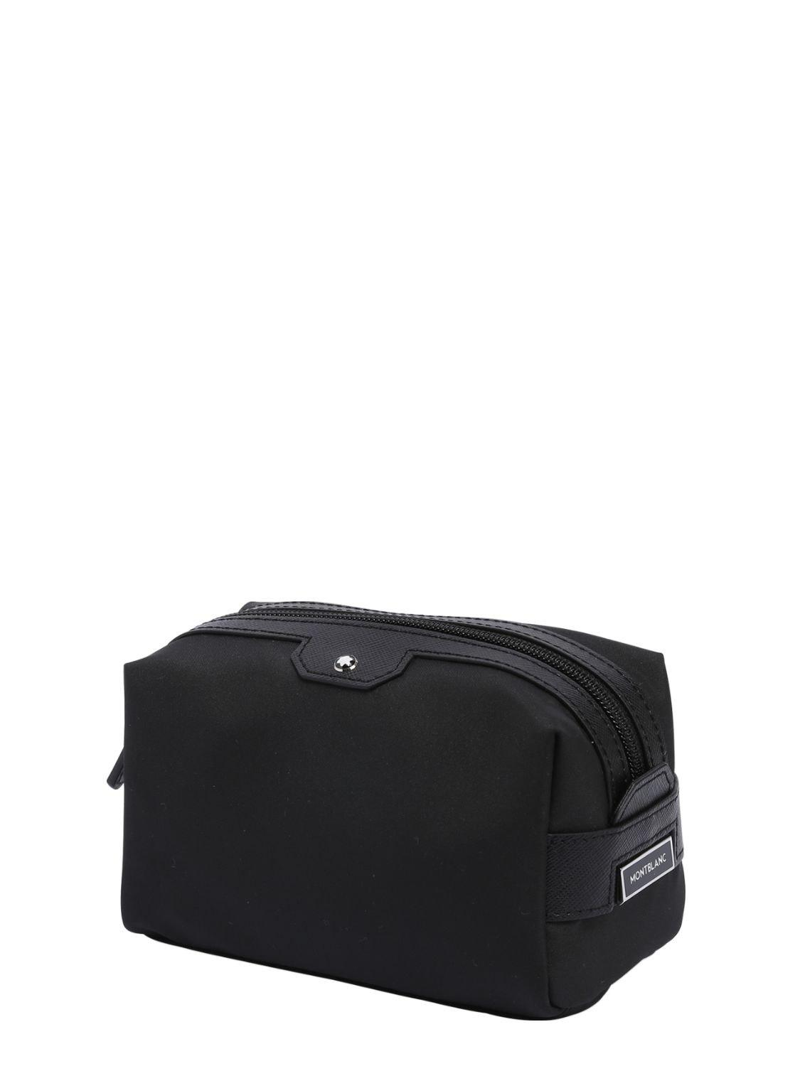 0e88a3e60f4c9 Montblanc Small Sartorial Jet Toiletry Bag in Black for Men - Save 33% -  Lyst