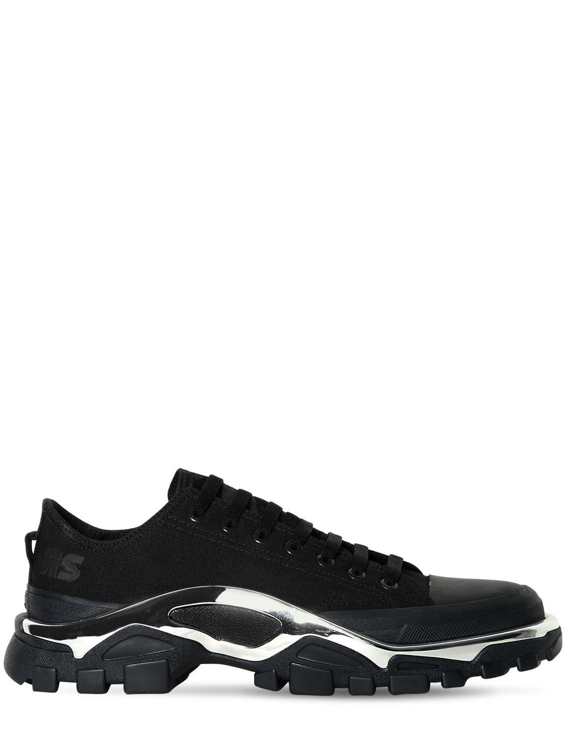 Lyst - adidas By Raf Simons Rs Detroit Runner Sneakers in Black for Men 64285bc7b