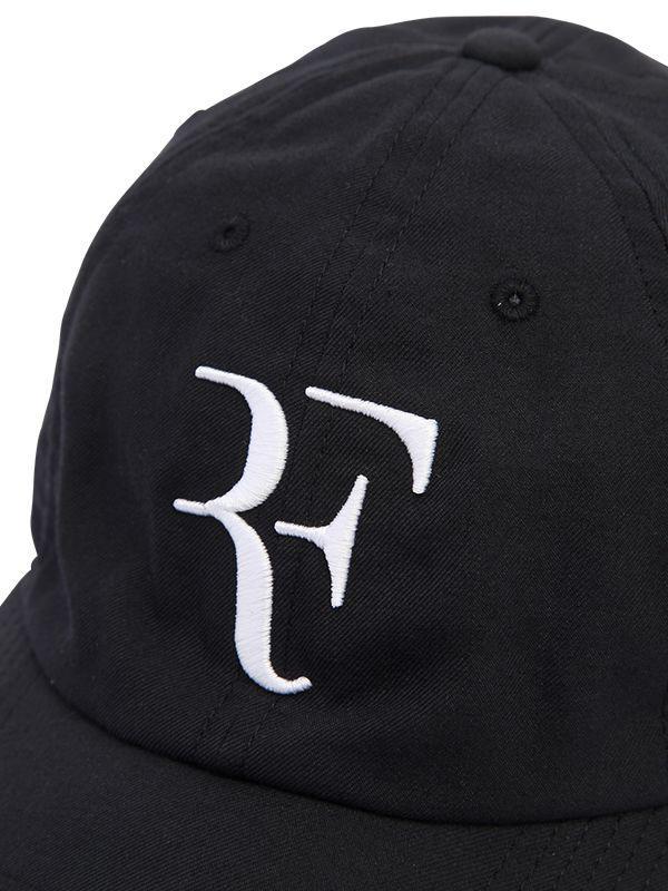 89dce364 Nike Roger Federer Aerobill Heritage86 Hat in Black - Lyst
