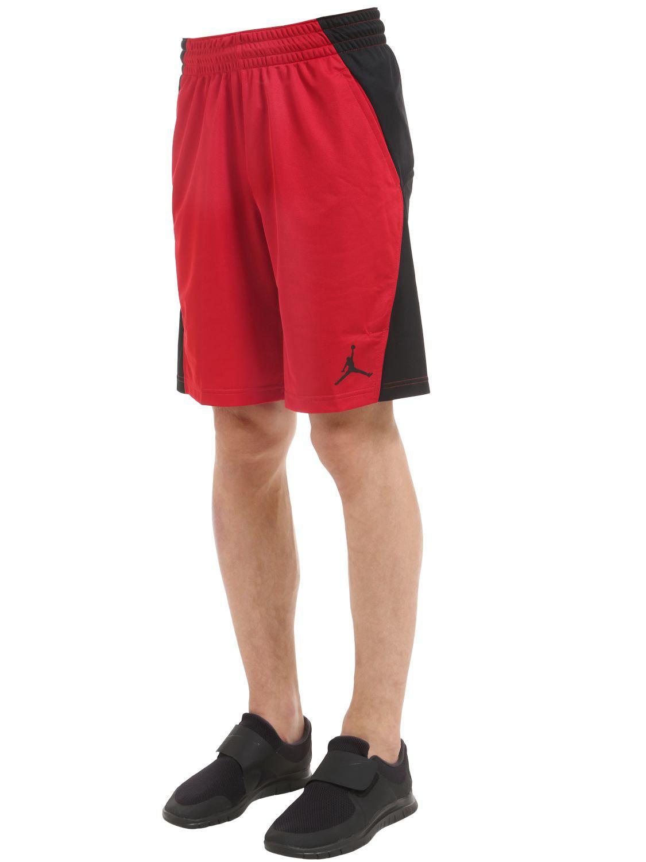 8b3e26ed4adeec Lyst - Nike Jordan Flight Basketball Shorts in Red for Men