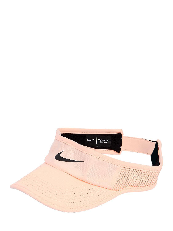 4fb1586c241 Nike - Pink Court Aerobill Tennis Visor - Lyst. View fullscreen