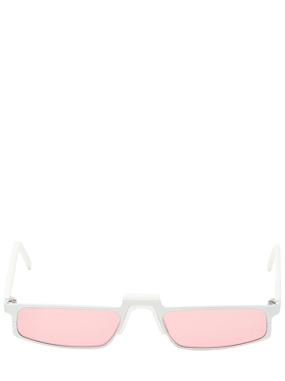 6838b21377d00 Lyst - Andy Wolf Rihanna Sunglasses in White