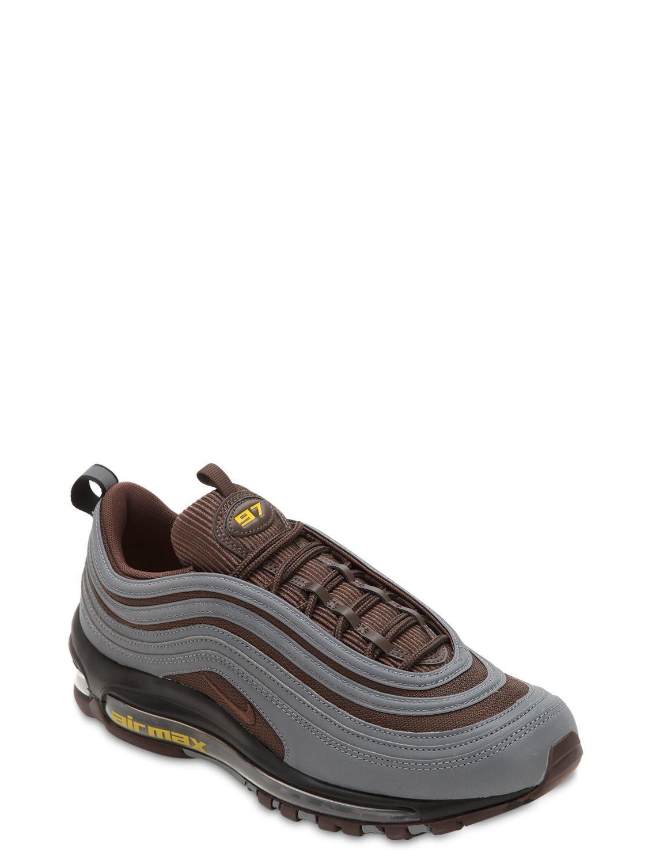 Nike - Brown Air Max 97 Premium Sneakers for Men - Lyst. View fullscreen 3e07a6741