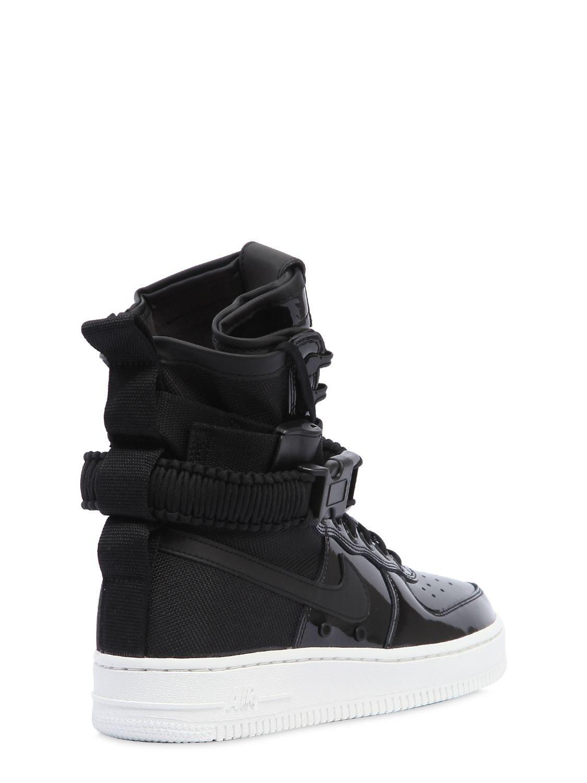 Nike - Black Sf Air Force 1 Se Premium Sneakers - Lyst. View Fullscreen