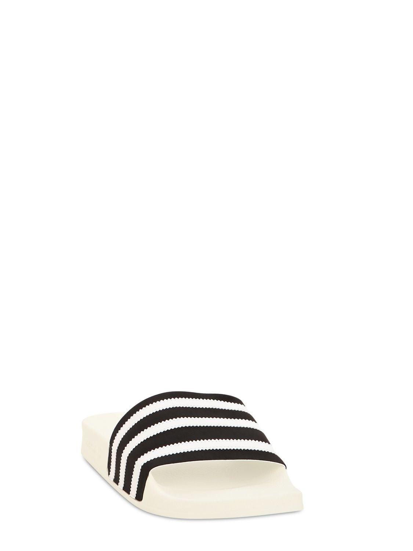 d6cd3767 adidas Originals Adilette Rubber Slide Sandals for Men - Lyst