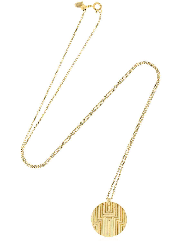 Maria black boya medi necklace in metallic lyst view fullscreen aloadofball Image collections