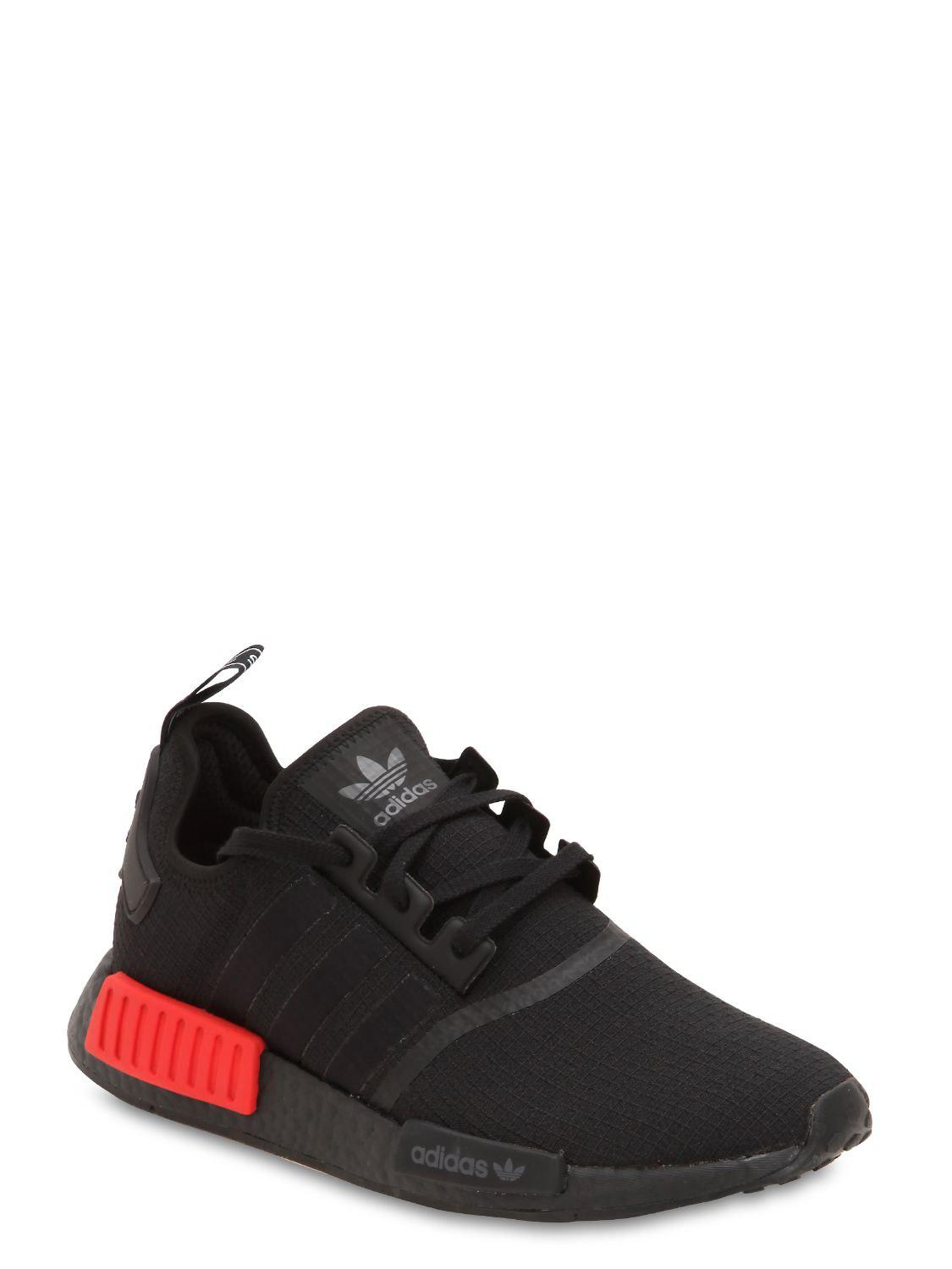Adidas Originals - Black Nmd R1 Sneakers for Men - Lyst. View fullscreen 7ddef33a8