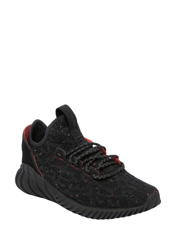 Lyst adidas originali tubulare doom sock primeknit scarpe da ginnastica in