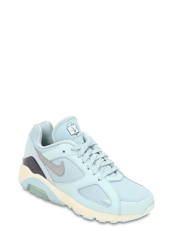 huge selection of 47b80 12643 Nike - Blue Air Max 180 Sneakers - Lyst. View fullscreen