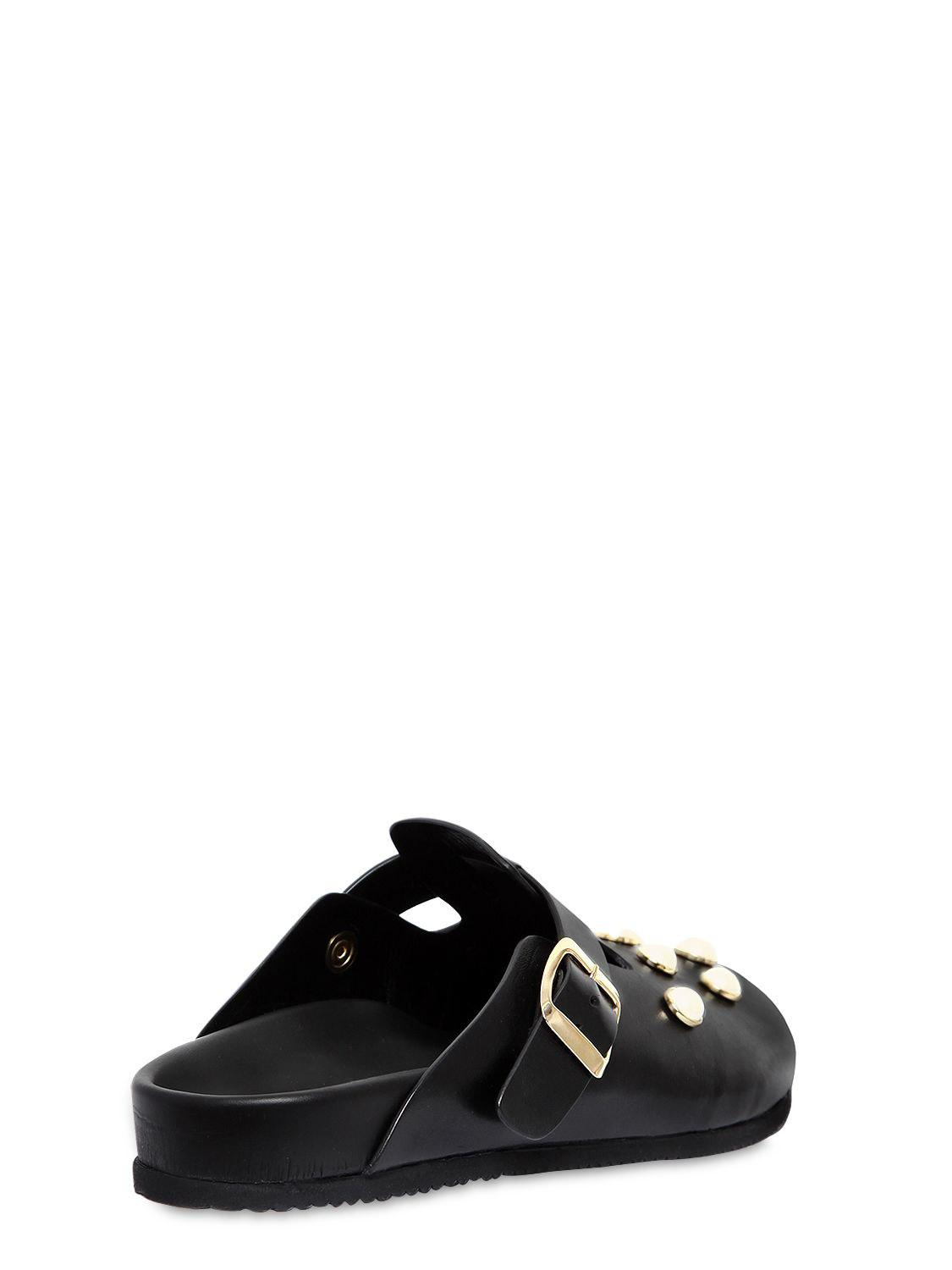 COLIAC 20MM CORNELIA EMBELLISHED LEATHER FLATS b2bwqh
