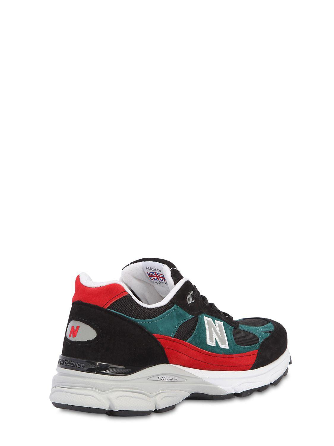 SNEAKERS 991.9 MADE IN ENGLAND IN PELLE New Balance acrS7tq