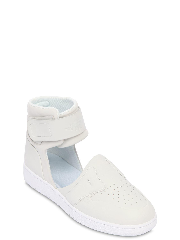 acefcd1d2a26cb Lyst - Nike Air Jordan 1 Lover Xx Cutout Sneakers in White - Save 37%