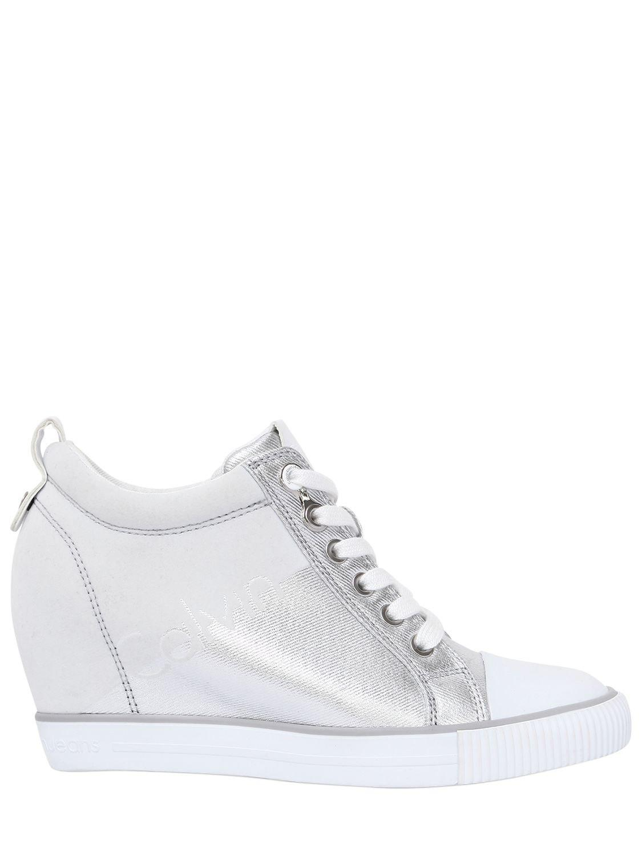 flatform colour-block sneakers - Metallic Calvin Klein Jeans ANPOWzd