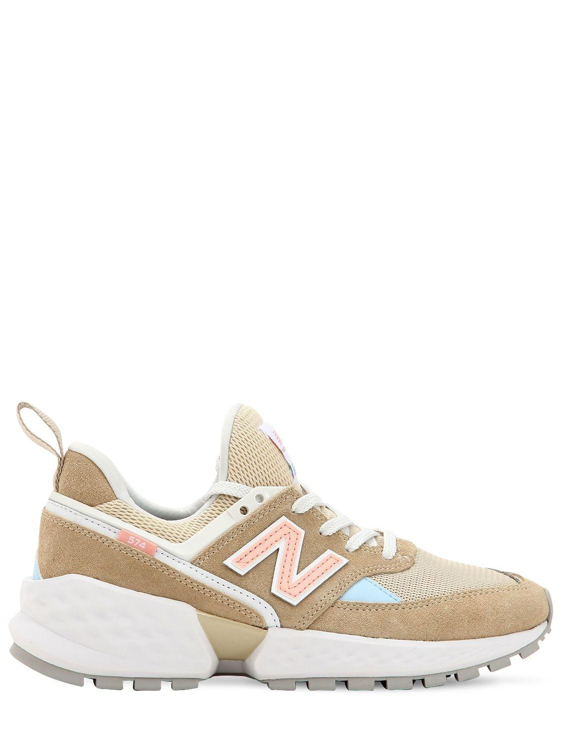 3358e877df63b Lyst - New Balance 574 Sneakers in Natural