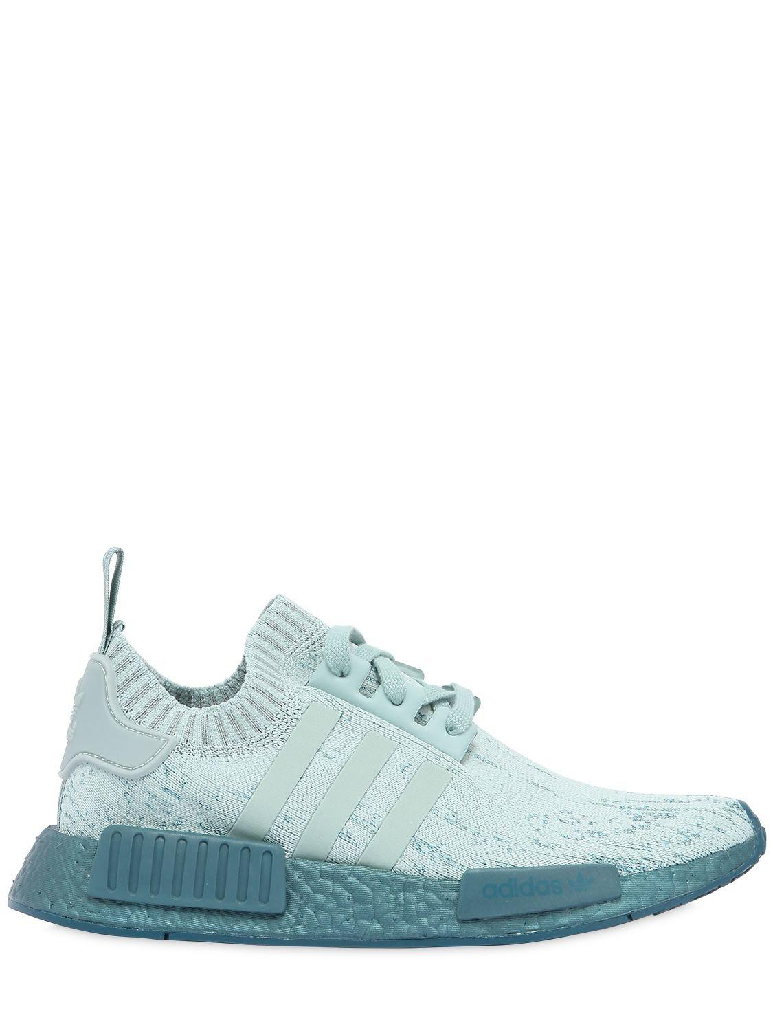 87563667576be Lyst - adidas Originals Nmd R1 Pk Stretch Mesh Sneakers in Blue