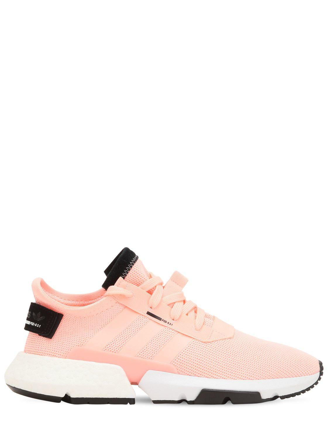 new product 25652 989c7 adidas Originals. Womens Pink Pod-s3.1 Sneakers
