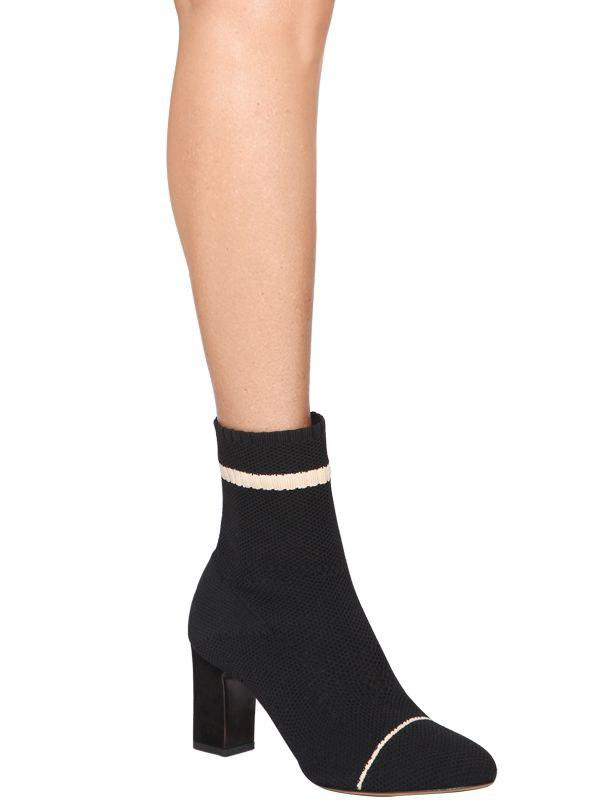 Tabitha Simmons 75MM ANNA SOCK KNIT ANKLE BOOTS 3lMrRp2