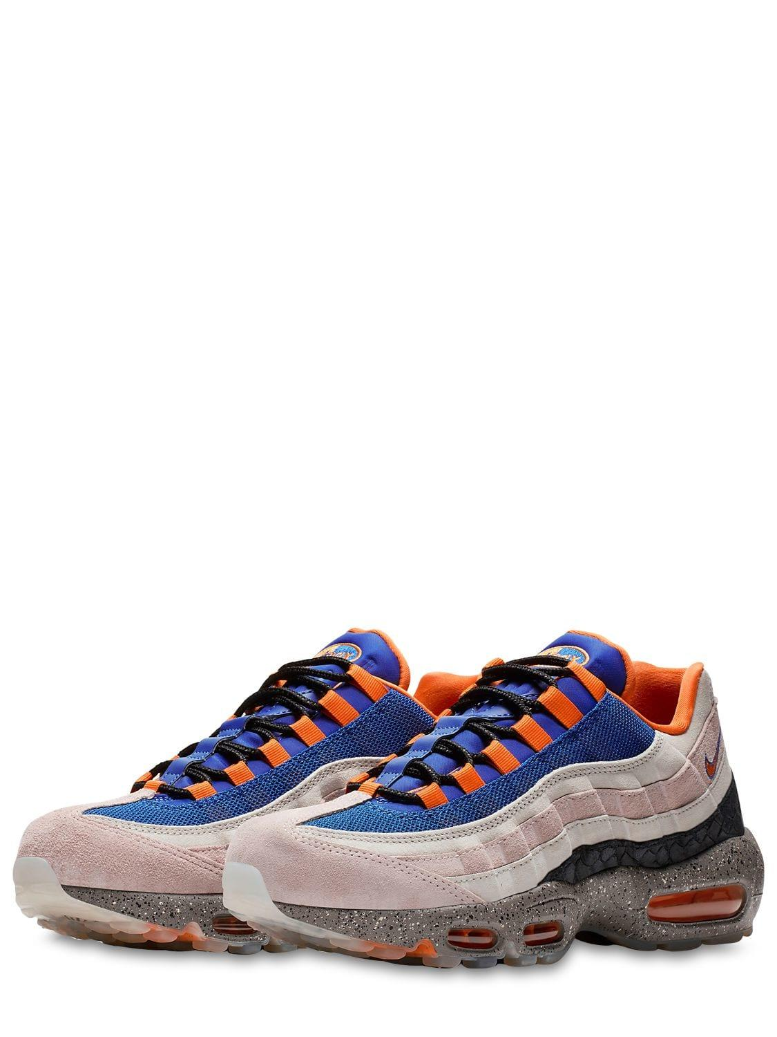 775c1f4ee6e Lyst - Nike Air Max 95 We Sneakers in Blue for Men