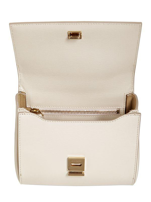 Lyst Givenchy Mini Pandora Box Bag W Chain Strap In White