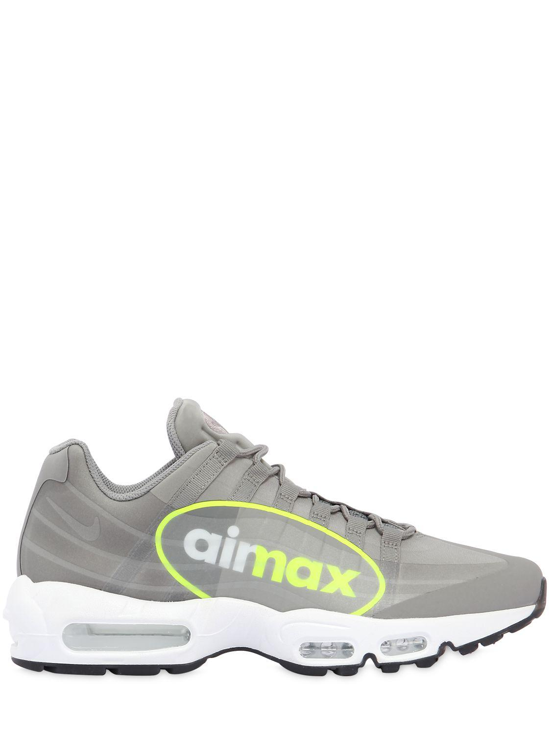Nike. Men's Gray Air Max 95 Ns Gpx ...