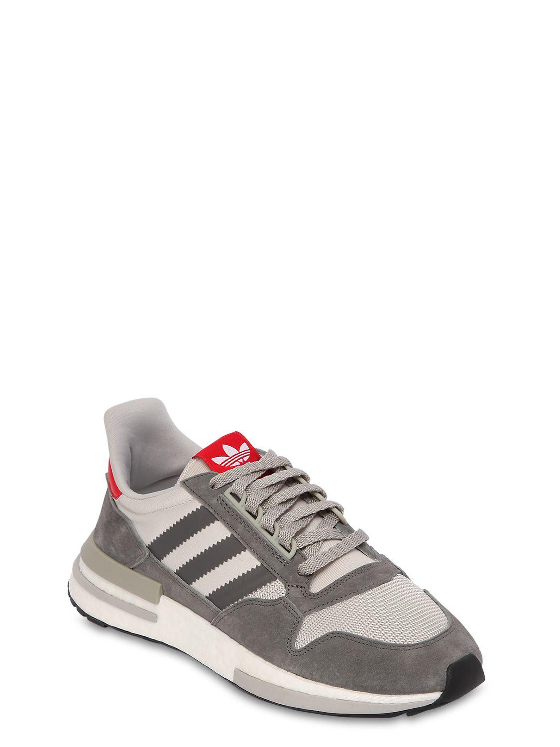 Lyst - adidas Originals Zx 500 Sneakers in Gray for Men - Save 57% 441b6a7f2eed6