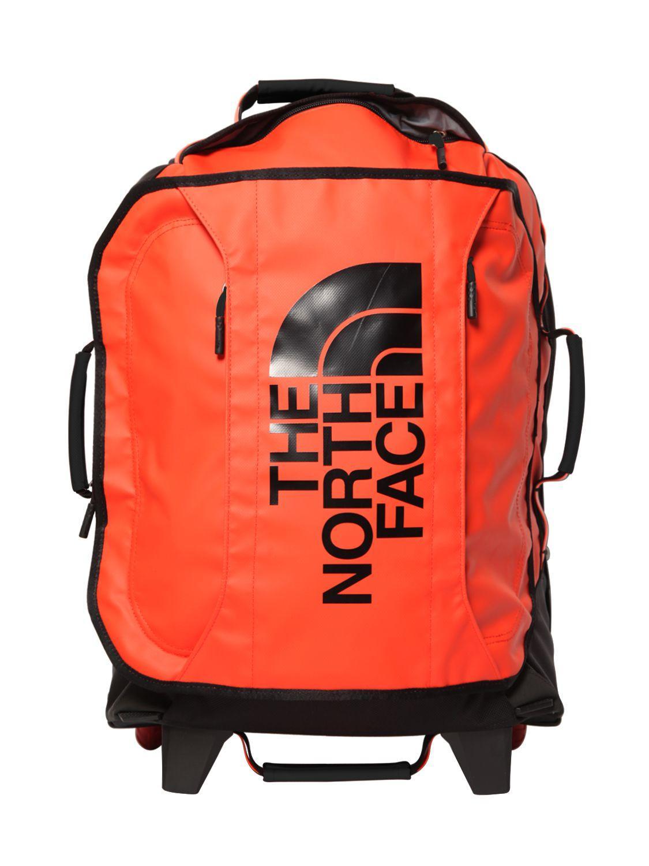 lyst the north face rolling thunder 19 trolley in orange for men. Black Bedroom Furniture Sets. Home Design Ideas