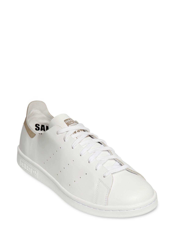 lyst adidas originals stan smith laser geschnitten - sneakers in