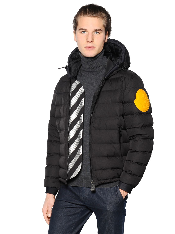 off white moncler coat