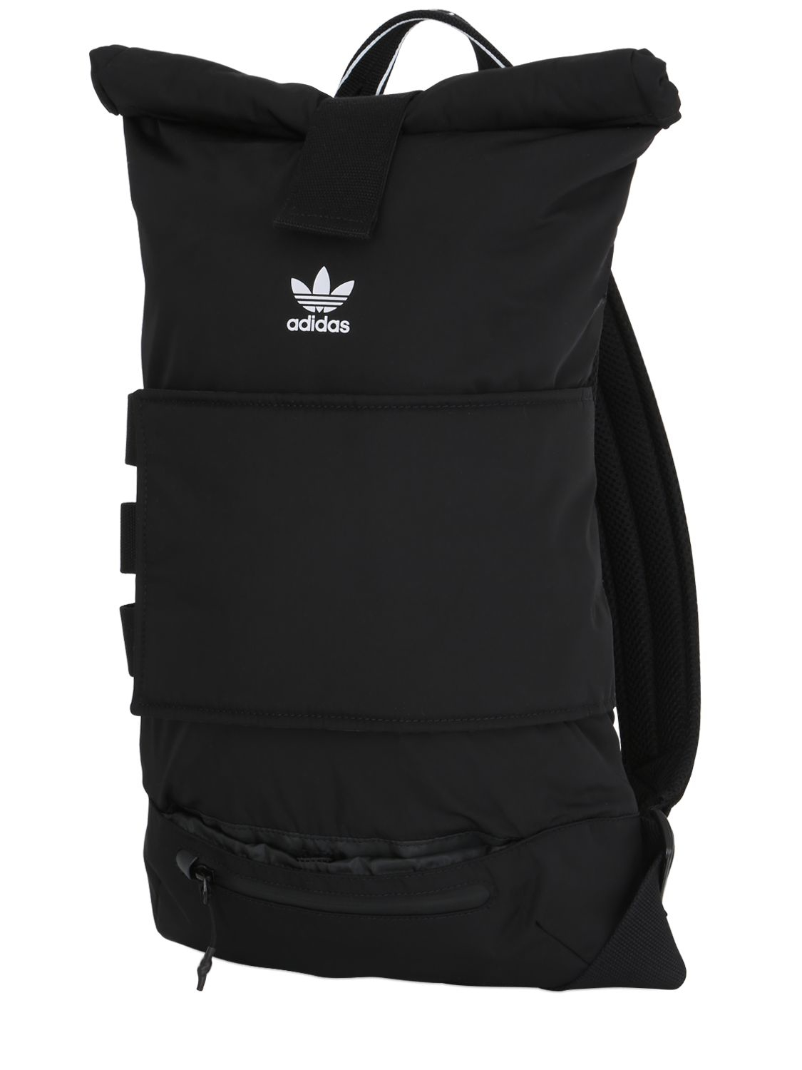 8ec92fcd9e Lyst - adidas Originals Nmd Nylon Roll-top Backpack in Black for Men