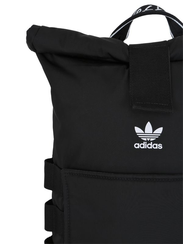 403a815032 adidas Originals Nmd Nylon Roll-top Backpack in Black for Men - Lyst
