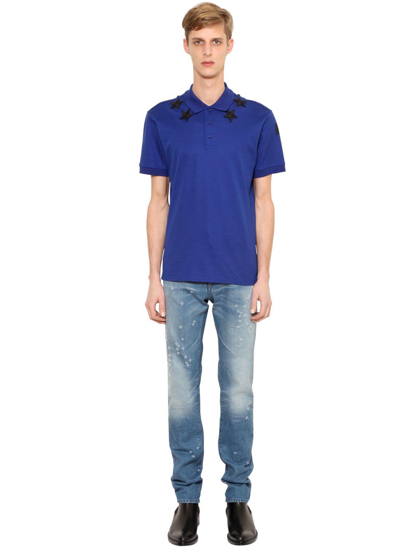 dd4cf6d3e8280 Givenchy Cuban Star Polo Shirts