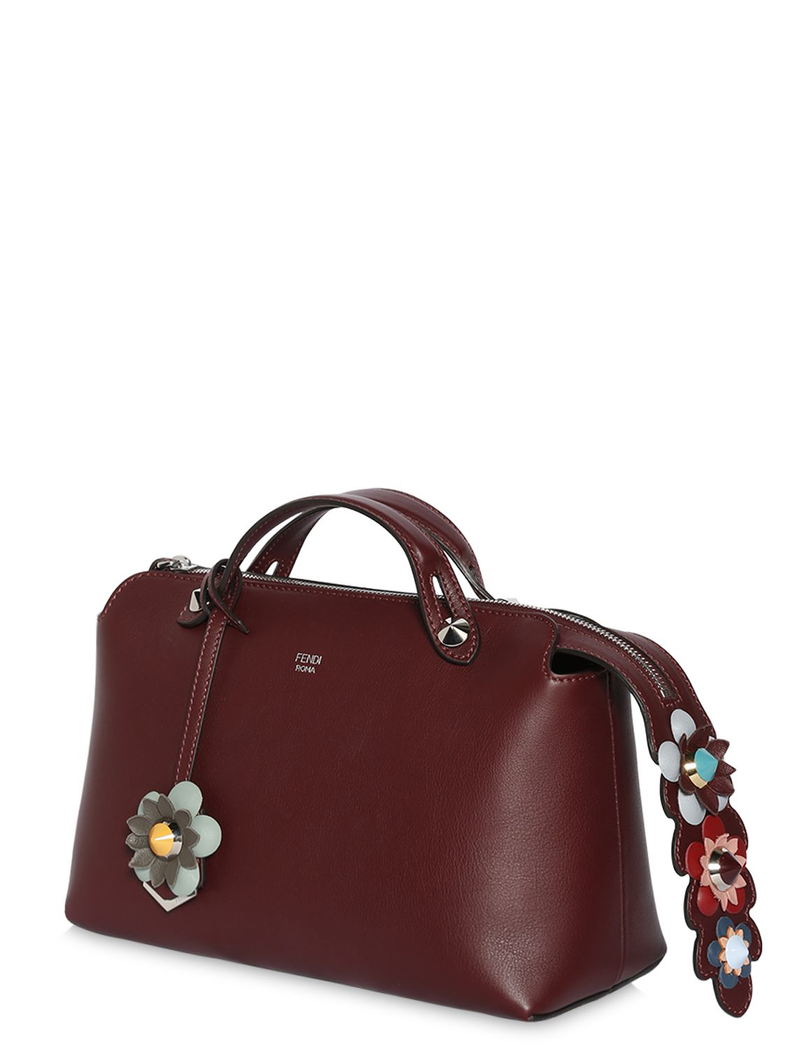 f2b3101abbc8 Lyst - Fendi By The Way Small Leather Tote in Brown