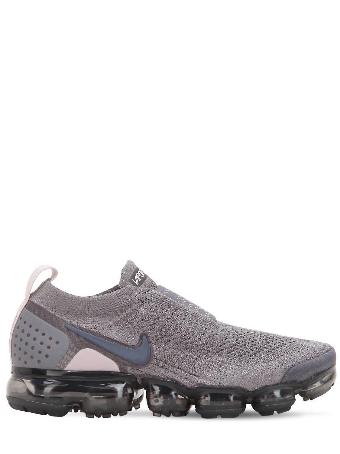 e746c12709670 Lyst - Nike Air Vapormax Flyknit Moc Sneakers in Gray - Save 12%