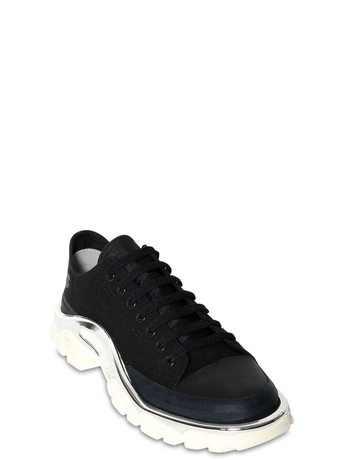 competitive price 5715f dc422 Adidas By Raf Simons - Black Rs Detroit Runner Sneakers for Men - Lyst.  View fullscreen
