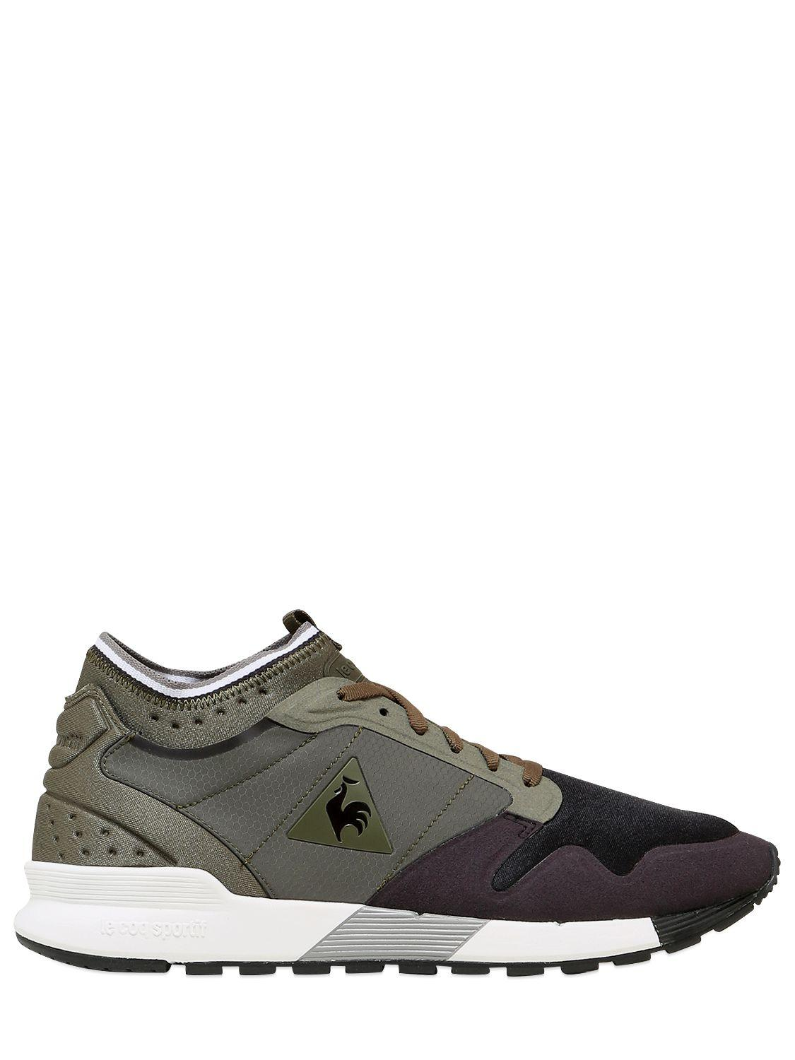 Le Coq Sportif Omicron Ripstop Nylon Sneakers for Men