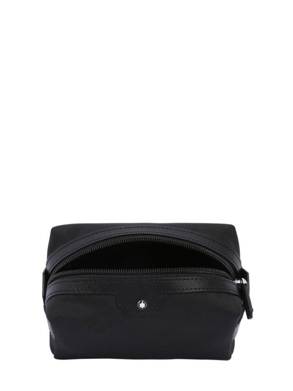 Montblanc - Black Small Sartorial Jet Toiletry Bag for Men - Lyst. View  fullscreen fdd46690b9