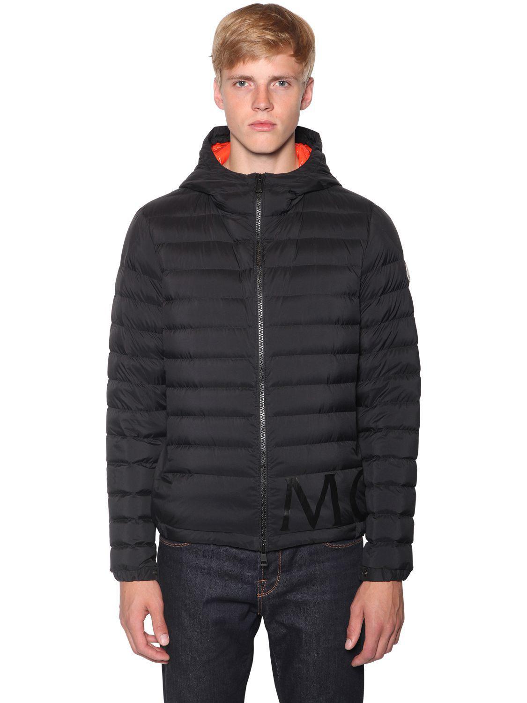 343c21f6c Lyst - Moncler Dreux Nylon Down Jacket in Black for Men