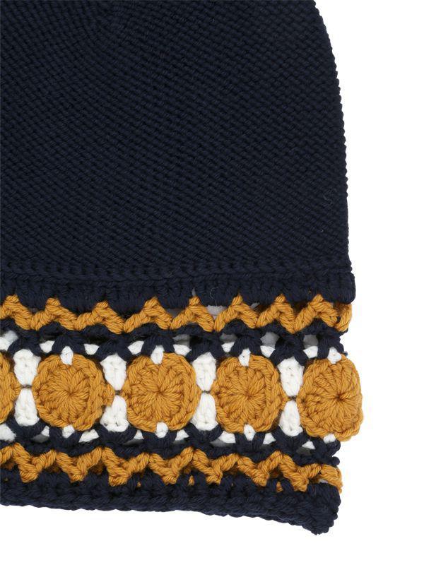 Gucci - Blue Wool Knit Beanie Hat for Men - Lyst. View fullscreen 739ad59fea75