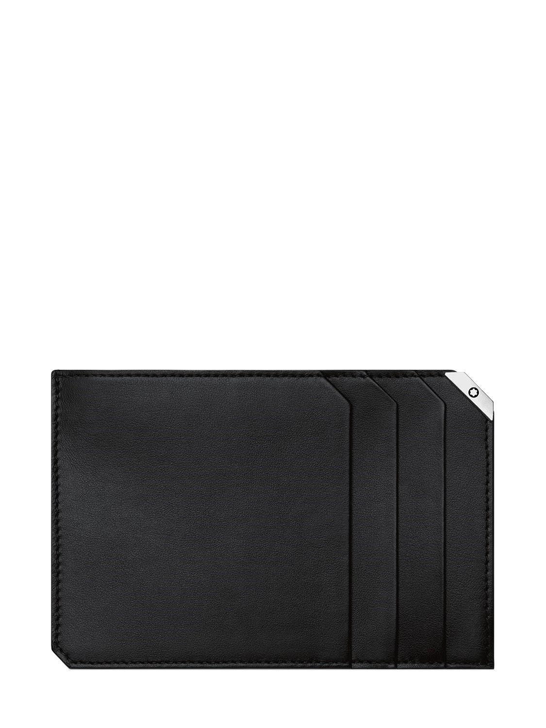 Lyst montblanc urban spirit leather zip card holder in black montblanc womens black urban spirit leather zip card holder reheart Images