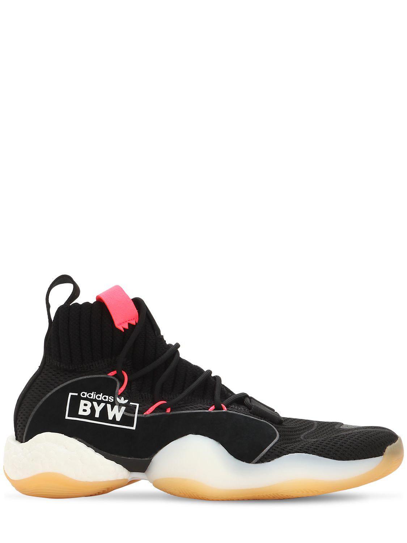 f7a66b58bb25f Lyst - adidas Originals Crazy Byw Lvl X Sneakers in Black for Men